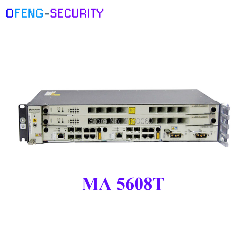 Huawei Mini 19 Inch MA5608T GPON Or EPON OLT, 2U Height,  (Chassis + 1*MCUD + 1*MPWD)  Without Service Board