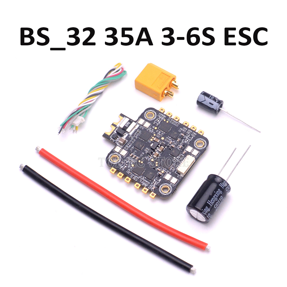 BS 32 35A 4IN1 3 6S ESC BLheli32 DShot1200 Dshot600 Dshot300 controller board for multi axis