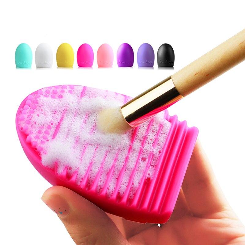 CLAVUZ макияж щетка для очистки стиральные средства доска Косметика Щетки скруббер совет ...