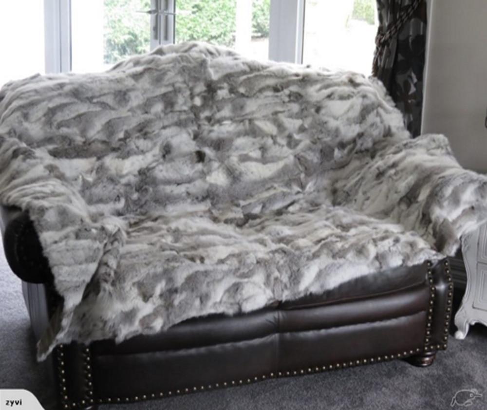 Aliexpress.com : Buy Patchwork Rabbit Fur Rug Real Fur