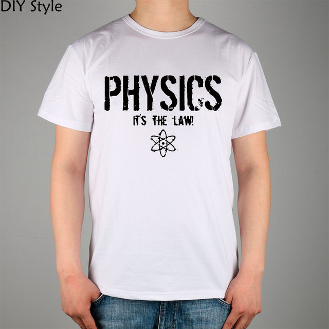 FUNNY PHYSICS S SCIENCE T shirt cotton Lycra top 11038 Fashion ...