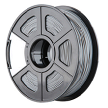 New 3D Printer Filament ABS/PLA 1.75mm/3.0mm for 3D Printer 1kg/2.2lbs Material:PLA Size:1.75mm Color:Silver