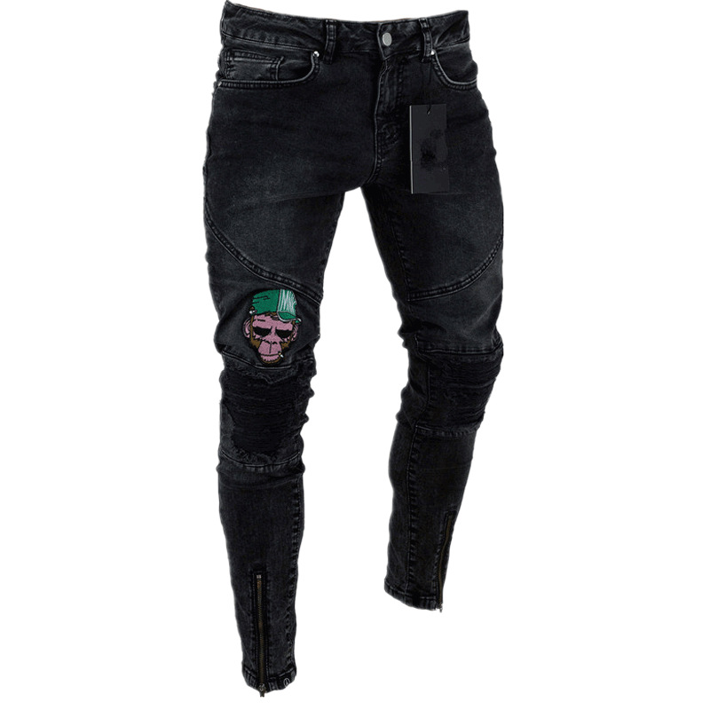 Last Pants Frayed Hole 15
