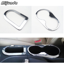ABS water cup holder decoration cover trim storage box cover trim for nissan Qashqai 2008 2009