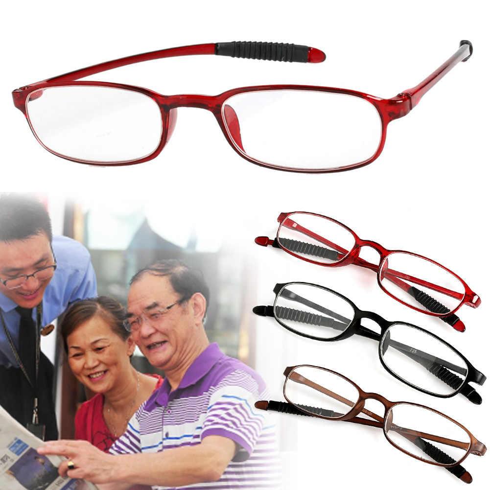 1pc TR90 ผู้หญิงผู้ชายยืดหยุ่นแว่นตาผู้อ่านแว่นตา Presbyopic