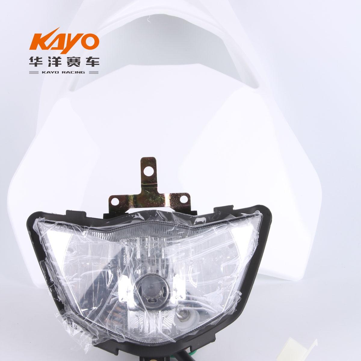 Huayang kayo 2016 t2 t4 general off-road motorcycle headlight DIRT PIT bike head lamp light Huayang kayo 2016 t2 t4 general off-road motorcycle headlight DIRT PIT bike head lamp light