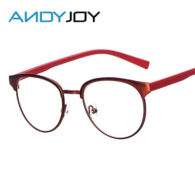 andyjoy new fashion ladies metal eyeglasses frames women luxury brand myopia spectacles frames elegant female optical