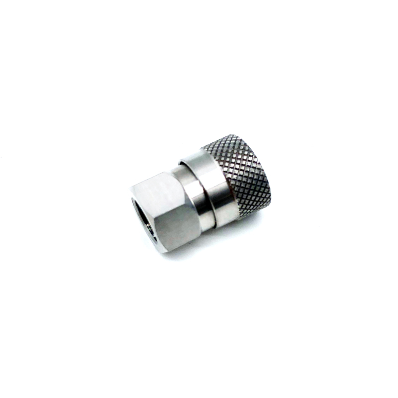 Free Ship 1/8 NPT Female Thread Quick Connectors Stainless Steel 1/2/16/32pcs Options