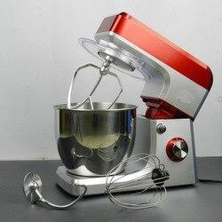 1200W 6L Keuken Voedsel Stand Mixer Crème Ei Garde Blender Cake Deeg Brood Mixer Maker Blender Machine