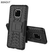 For Huawei Mate 20 Pro Case Soft Silicone & Plastic Armor Anti-knock Cover