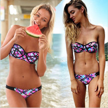 2017 New Women Sexy Bikini Set Swimwear Push Up Bikinis Low Waist Swimsuit Bathing Woman Swimwears
