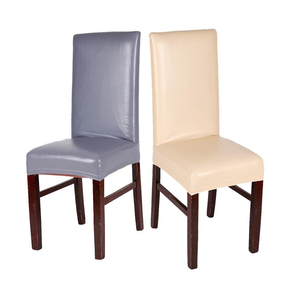 10 sztuk/partia dekoracji pokoju biurowego wino czerwone koronki wzór elastyczna fotel PU pokrywa hotelu domu Multi Color wodoodporna pokrowce na krzesła w Pokrowiec na krzesło od Dom i ogród na  Grupa 1