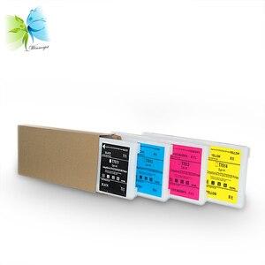 Winnerjet 4 цвета 500 мл T7011-T7014 совместимый полный чернильный картридж для Noritsu D701 D703 D705 D1005 принтера