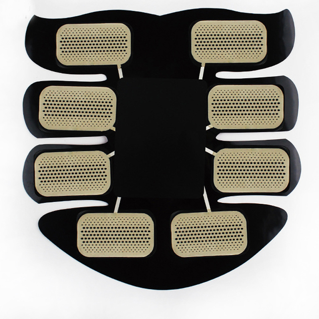 New Smart EMS Muscle Stimulator ABS Abdominal Muscle Toner Body Fitness Shaping Massage Patch Sliming Trainer Exerciser Unisex 4
