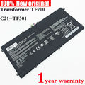 Bateria do tablet para asus transformer tf700 tf700t originais c21-tf301 2icp4/95/97 7.4 v 3380 mah 25wh