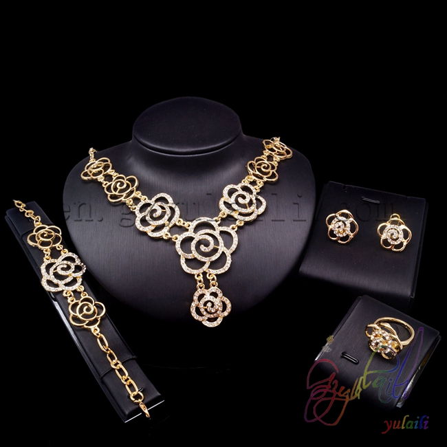 Yulaili 2017 Fashion Newest Jewelry Set Wedding Party Supplies Magnificent style