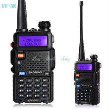 2 pcs walkie talkie BAOFENG UV-5R radios sets + 2pcs baofeng speaker mic microphone + 1pcs programming cable + 2pcs silikon case