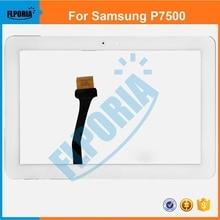 """Panel Táctil de la tableta Para Samsung Galaxy Tab 10.1 """"P7500 P7510 de la Pantalla Táctil de Cristal Digitalizador con Flex Cable Assembly 100% Nuevo"""