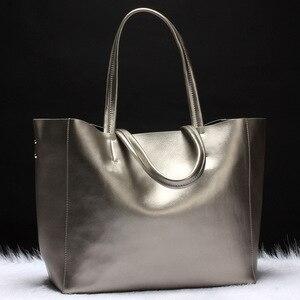 Image 3 - I più venduti borsa da donna borsa a secchiello in vera pelle borsa Casual borsa a tracolla di lusso da donna borsa a tracolla da donna in otto colori caramelle