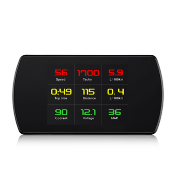Multifunctional P12 Automobile Board Computer Projector Car Digital GPS OBD Driving Displayer Car  Up Display