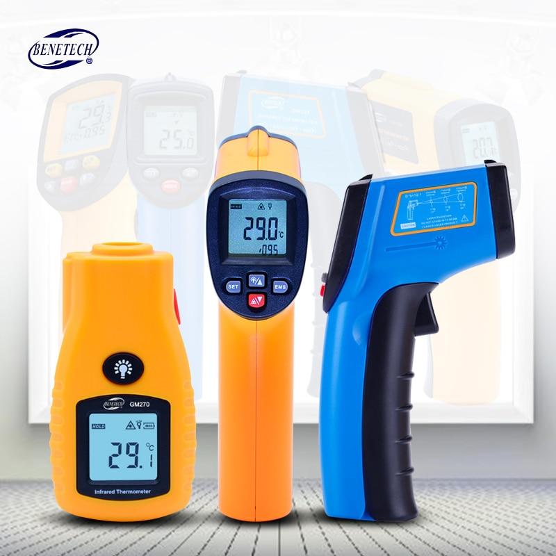 BENETECH Digitale thermometer gun berührungslose infrarot-thermometer temperatur gun ir thermometer industrie GM320 ~ GM900
