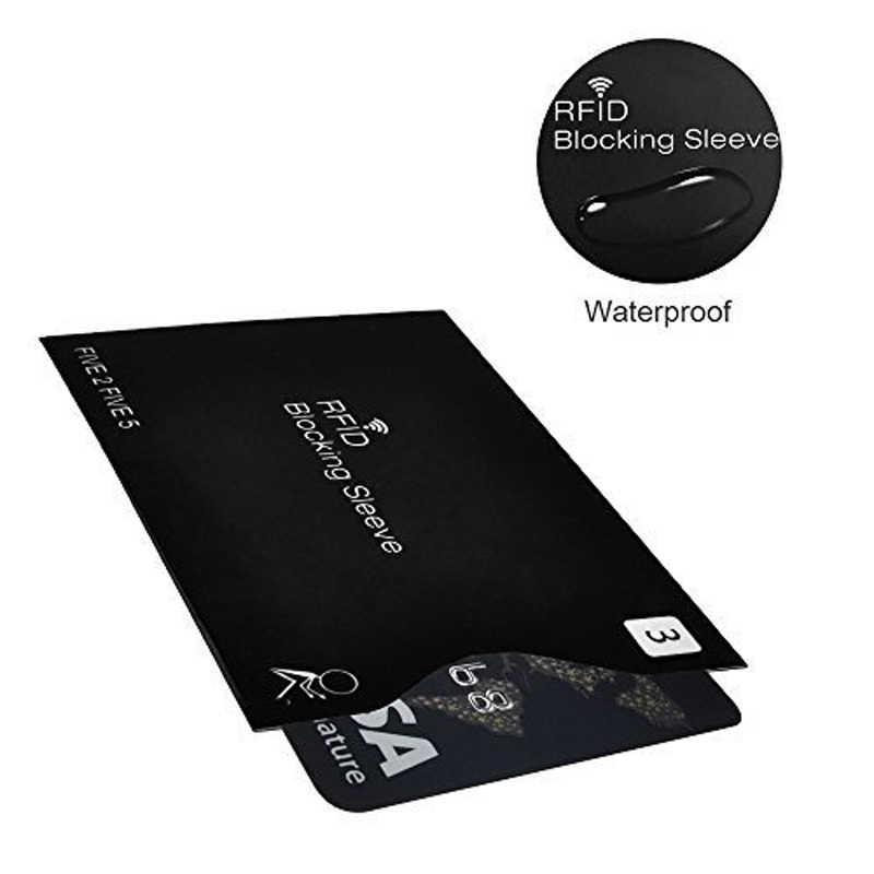 10 Pcs/set Anti-Theft RFID Kartu Pelindung Bank Kartu RFID Kunci Lengan Identitas Anti-Theft Pelindung cover untuk Kartu
