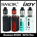 Original wismec reuleaux rx200 tc cuadro mod y ijoy ilimitada Vape Rebuildable RDTA Plus Tanque Cigarrillo electrónico 6.3 ml Capacidad de Inicio kit