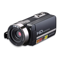 Portable Home Camera Video 270 Degree Rotatable 1080P HD Touch Screen Digital Camcorder 16X Zoom Video Recorder