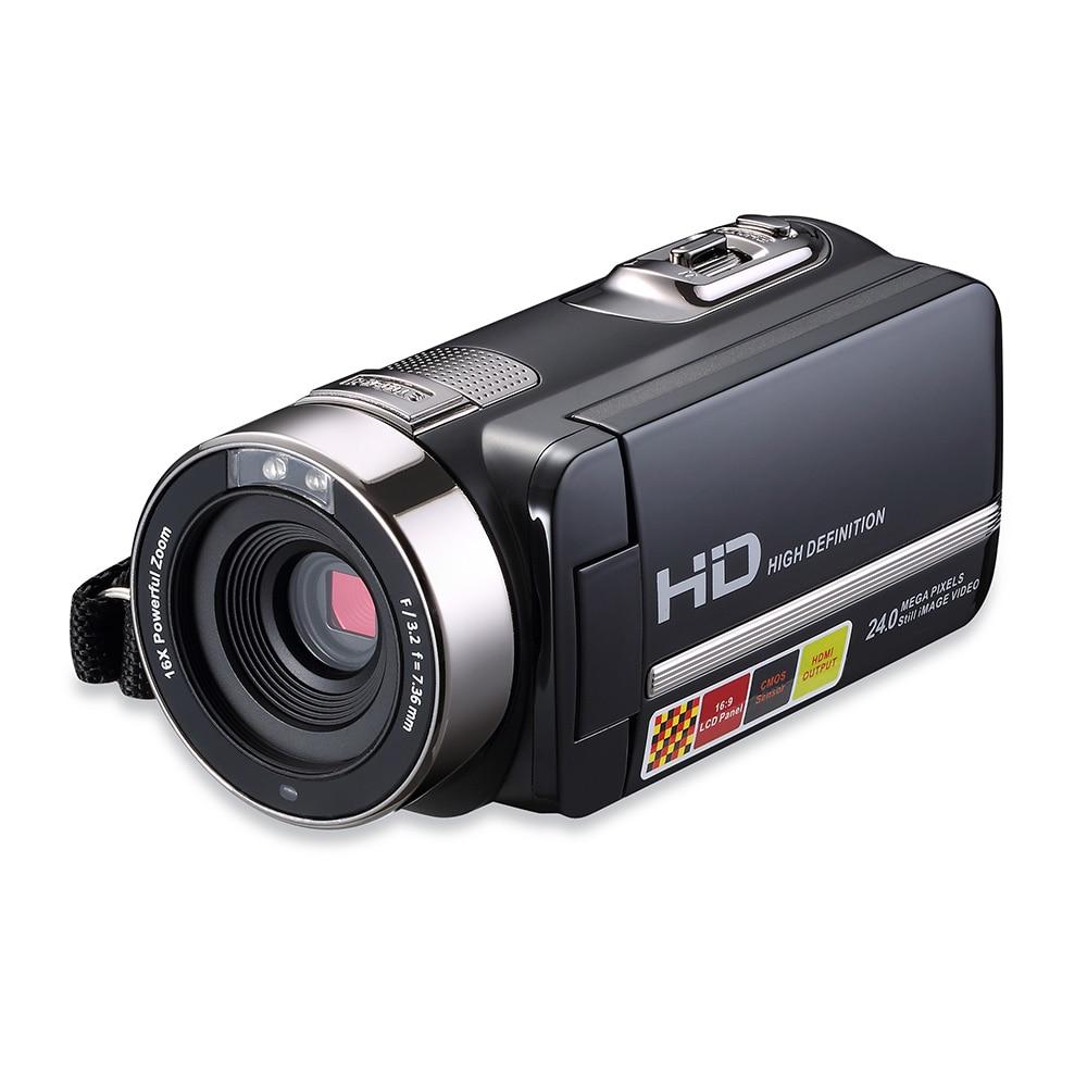 Portable caméra domestique Vidéo 270 Degrés Rotatif 1080 P HD écran tactile caméscope numérique 16X Zoom enregistreur vidéo