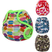 JinoBaby Cloth Diapers Baby Couche Lavable Training Pants One Size for NB to 18KGS (bamboo insert) jinobaby bamboo aio diapers heavy wetter potty training pants for babies