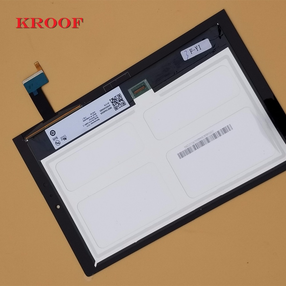 100% Tested For Lenovo Yoga Tablet 2 1050 1050F 1050L LCD Display Monitor + Digitizer Touch Screen Panel Replacement for chi mei 7inch lw700at9003 lcd screen display panel 800 480 40 pins digitizer monitor replacement
