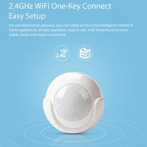 Image 2 - NEO COOLCAM Sensor de movimiento PIR inteligente WiFi, Detector de cuerpo humano, sistema de alarma de casa, Sensor PIR de movimiento inteligente, Tuya Smart Life