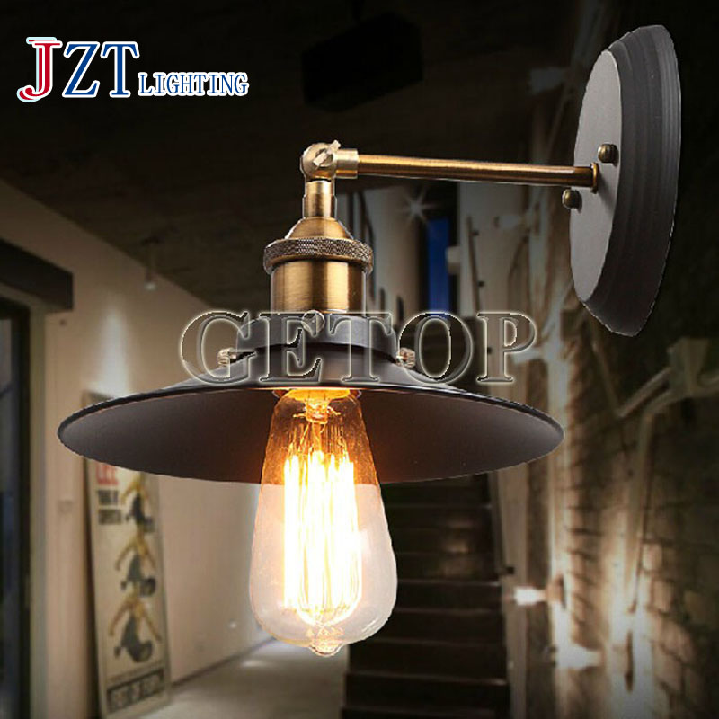 J best price Loft American industrial light restoring ancient ways wall lamp creative pipe lamps Led light bar coffee design z best price new village industrial