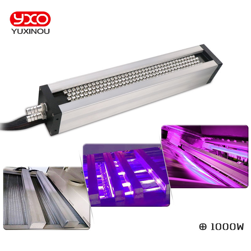 1pcs 1000W UV LED curing system for printing led curing machine,label printing,Flatbed Printer,uv ink,glue curing light led uv curable ink for epson 1390 printer head printing on hard materials for 3d effects 1000ml pcs 6c