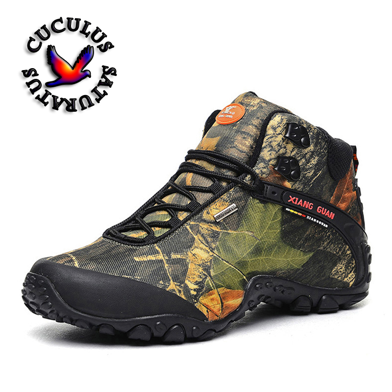 XIANG GUAN Waterproof canvas hiking shoes boots Anti-skid Wear resistant breathable fishing shoes climbing high shoes 82289 2016 kelme football boots broken nail kids skid wearable shoes breathable