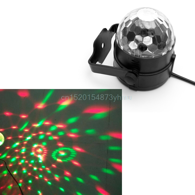 Voice Control US Plug LED Stage Strobe Light Operated DJ Disco Party Club Stroboscope Colorful Stage Light Effects YX# #L057# dj control