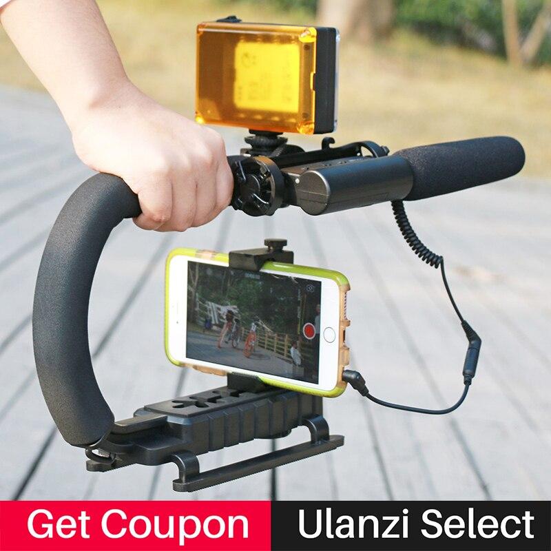 Photographique Vidéo Gear Set avec Takstar SGC-598 shotgun Entrevue Microphone et led caméra lumière pour Youtube Vlogger Vidéaste