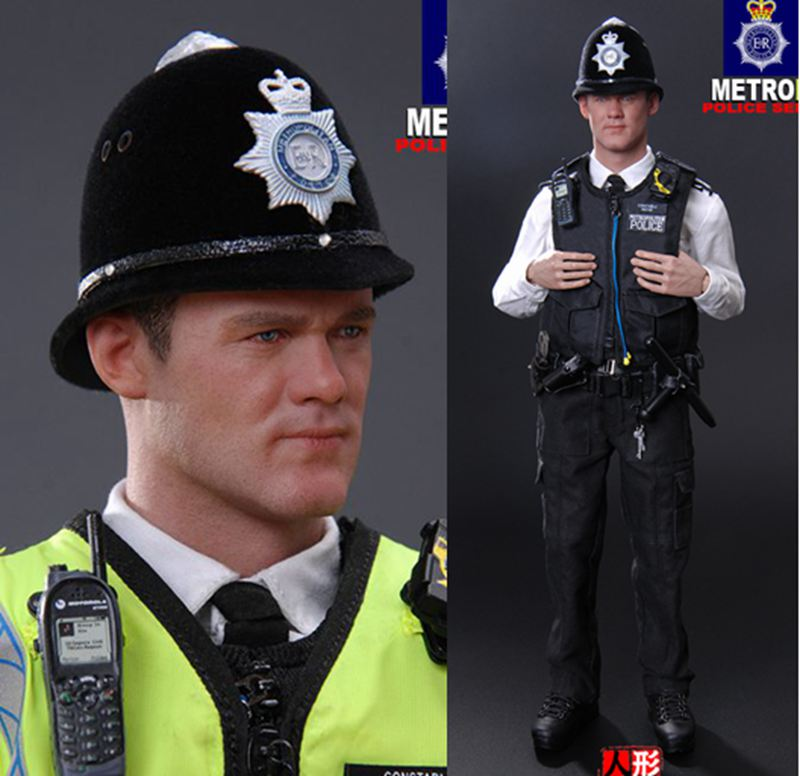 1/6th scale military figure Collectible Model plastic toy British metropolitan police service 12 Action figure doll 1 6th scale military figure collectible model plastic toy blue steel commandos swat beijing china 12 action figure doll