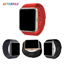Interpad Best Quality GT08 Smart Watch Bluetooth Connect Sync Notifier Wristwatch 350MAH Battery Pedometer Smartwatch GT 08 DZ09