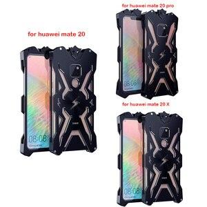 Image 5 - Huawei 친구 20 프로 원래 Zimon 알루미늄 전화 케이스에 대 한 럭셔리 Shockproof 금속 케이스 Huawei 친구 20/친구 20 x