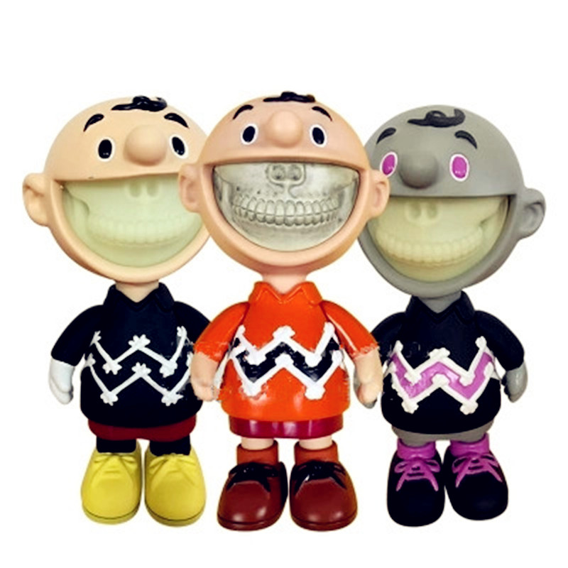 Street Art Medicom Toy Charlie Brown Cosplay KAWS PVC Action Figure Collection Model Toy G1213 102cm street art medicom toy dissection super mario cosplay kaws pvc action figure collection model toy g1203