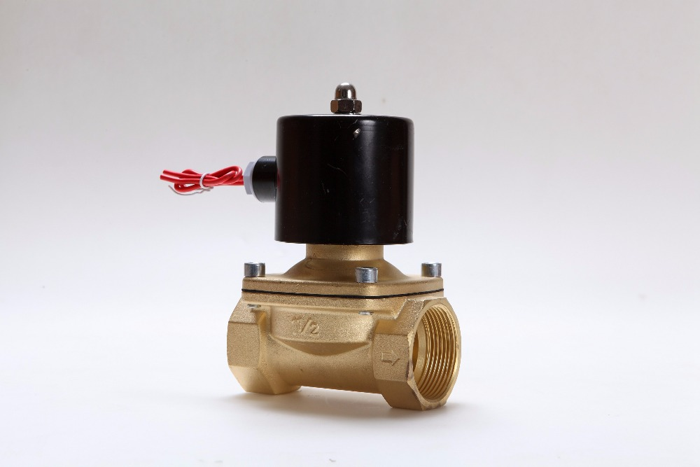 Free Shipping 2 2 Position 2 Port Air Solenoid Valves 2W500-50 Pneumatic Control Valve , DC12V DC24V AC220V g1 2 4v430c 15 3 position 5 way air solenoid valves pneumatic control valve dc12v dc24v ac 24v ac110v 220v