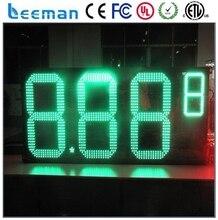 Leeman 12 дюйм(ов) топлива станции из светодиодов цифровой цена на газ знак 8.888 водонепроницаемый 7 сегментный цифровой из светодиодов цена на газ знак / из светодиодов азс