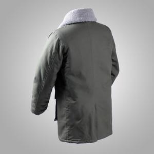 Image 2 - Deutsch Connie Großen Military Jacke M1909 Kampf Mantel Winter männer Armee Outwear