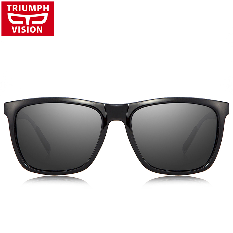 TRIUMPH VISION Μαύρα τετράγωνα γυαλιά ηλίου - Αξεσουάρ ένδυσης - Φωτογραφία 3