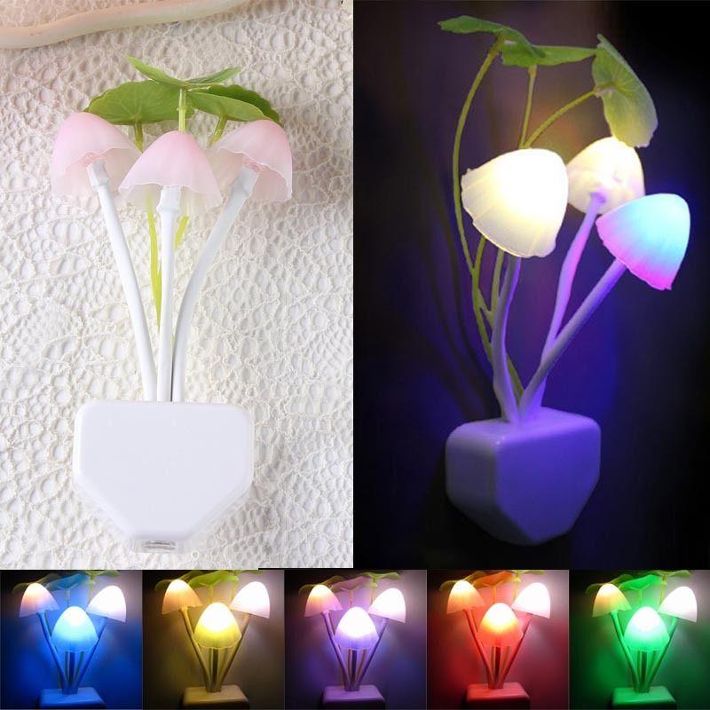 Luzes da Noite parede cogumelo sensor de luz Formato : Cogumelo