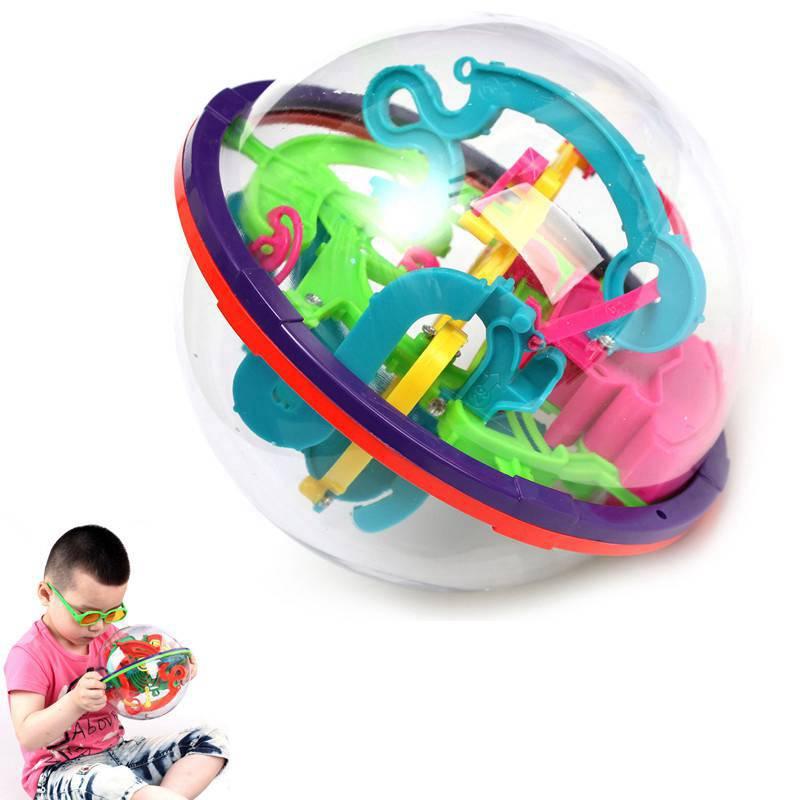 100 ~ 299 nivåer labyrint pusselboll 3d labyrint intellekt barn - Spel och pussel - Foto 5