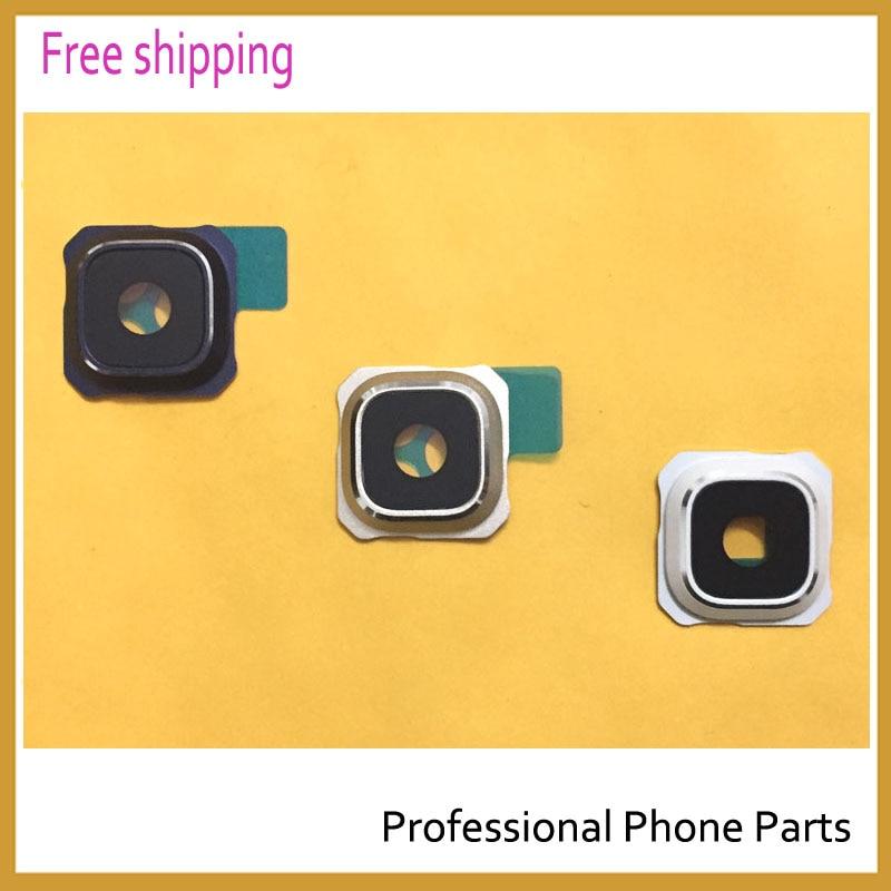 Original New White/ Blue/ Gold for Samsung Galaxy S6 edge plus G9280 Back Camera Frame Holder Rear Camera Glass Lens Cover