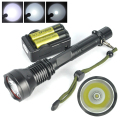 Range 200Meter T6  Led Torch Flashlight Waterproof Torch Light Full Set For Hunting /Tactical ,1 Year Warranty Guarantee