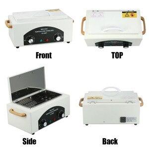 Image 5 - 300w Dry Heat High Temperature UV Sterilizer Box Nail Art Tool Sterilizer Box Hot Air Disinfection Cabinet For Manicure Salon